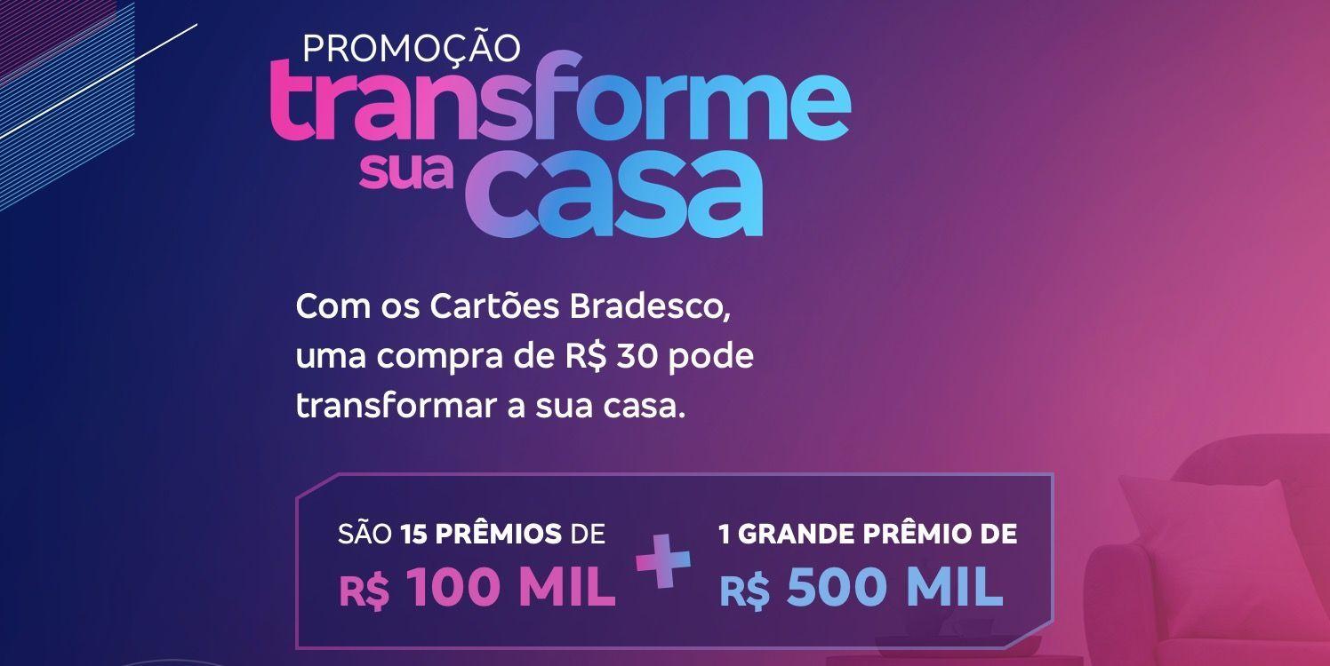 Cartões Bradesco R$ 500 mil