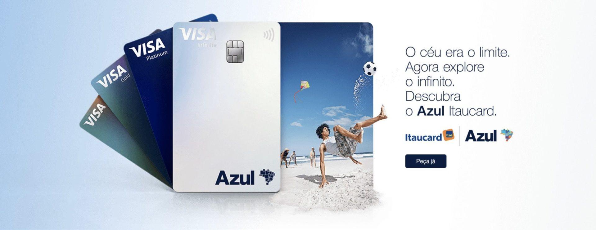 Azul Itaucard Visa Infinite
