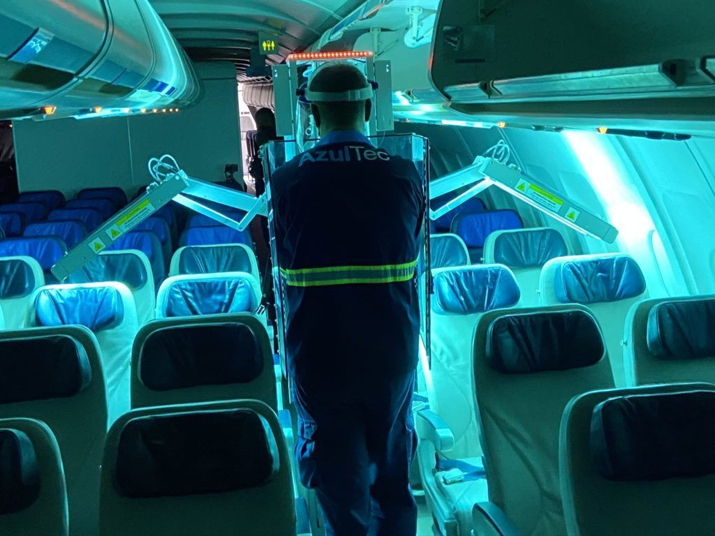 Azul radiação ultravioleta Honeywell