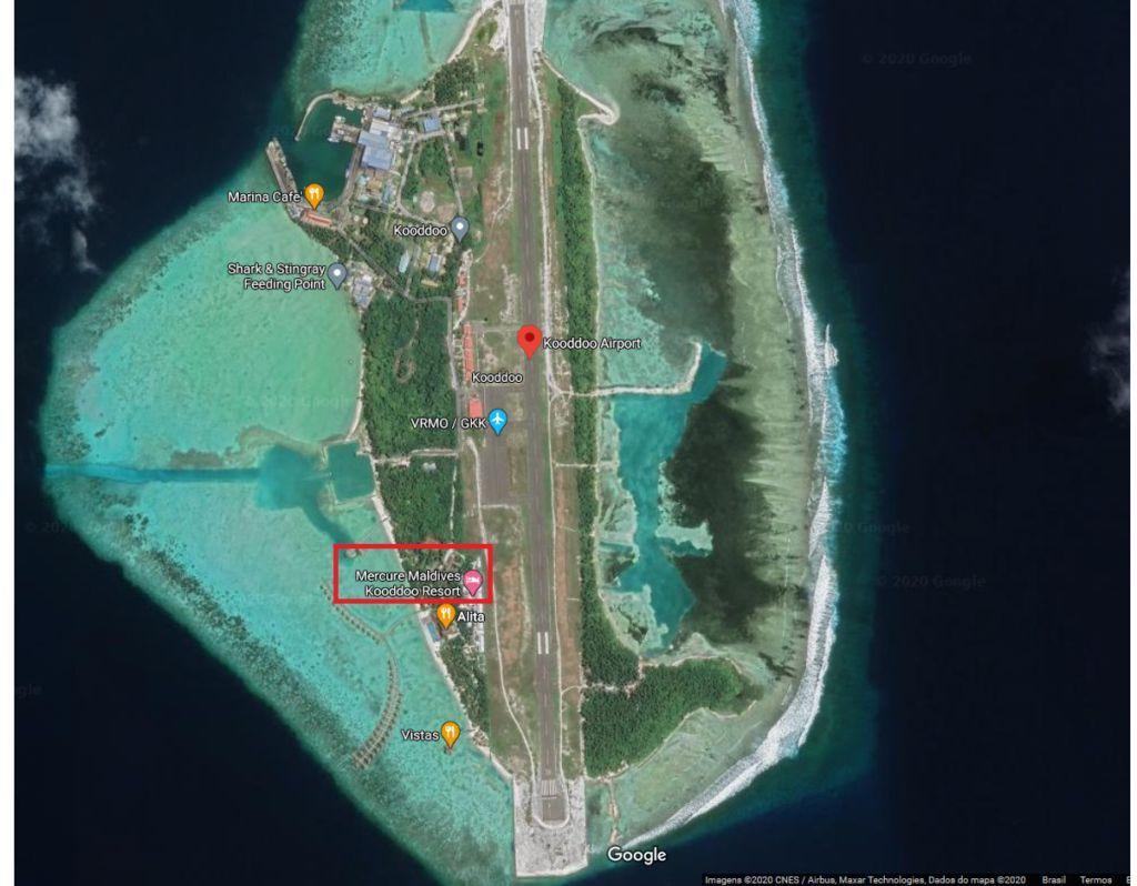 Aeroporto Kooddoo Maldivas