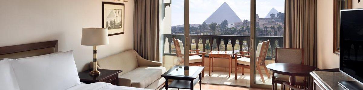 Marriott Mena House Egito viagem