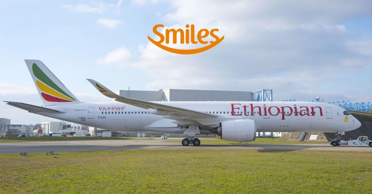 Smiles Ethiopian milhas