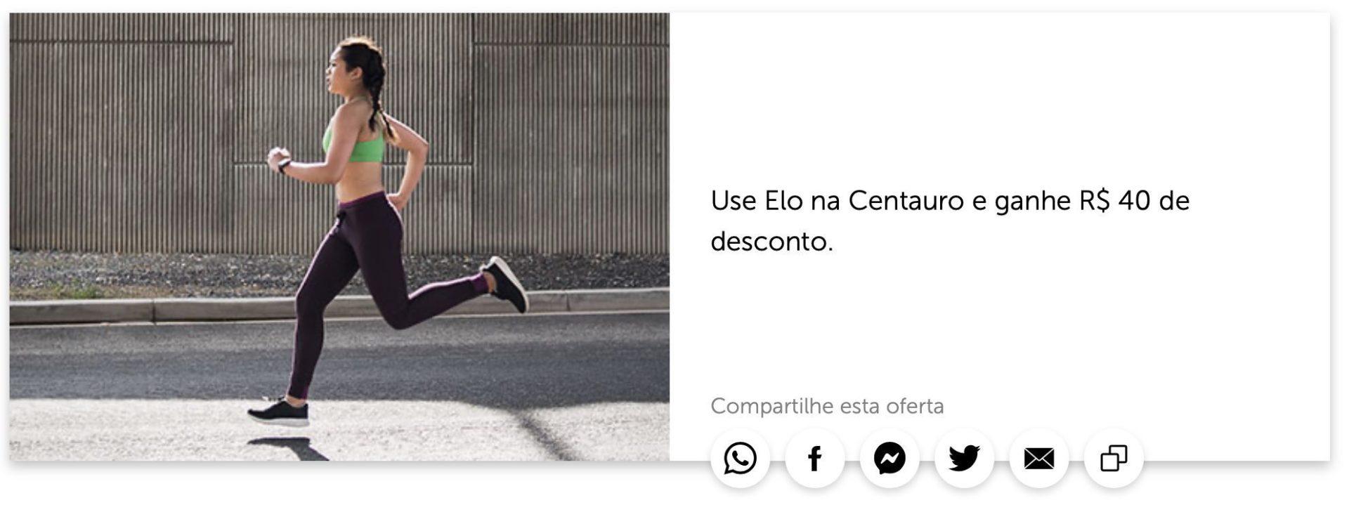 Elo Centauro R$40