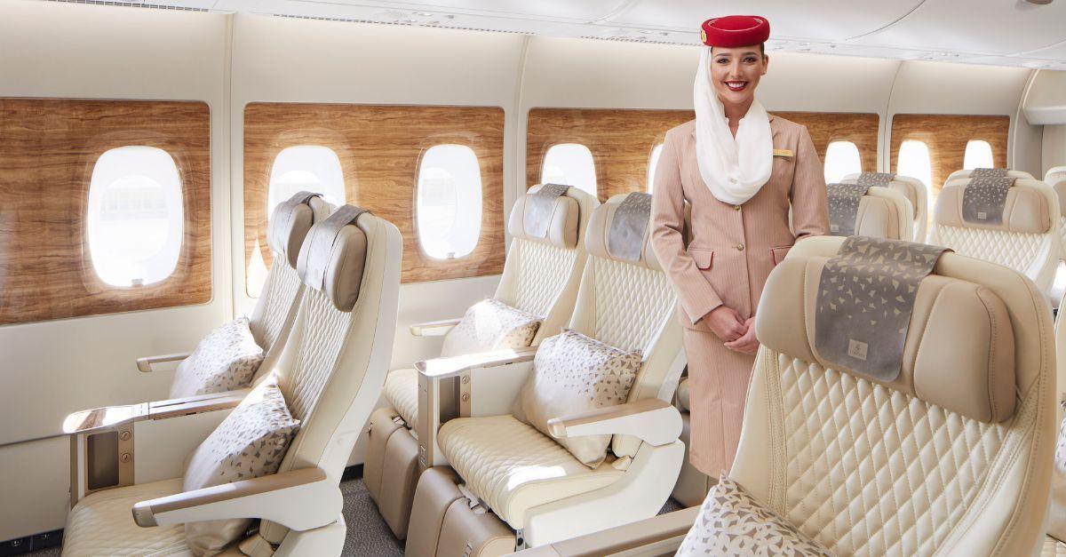 Emirates Premium Economy Londres