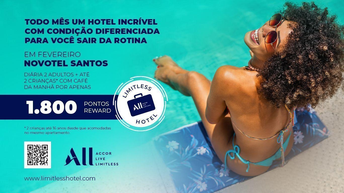Limitless Hotel Novotel Santos