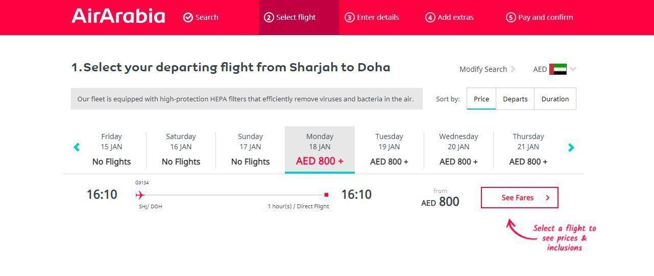 voos diretos Emirados Catar