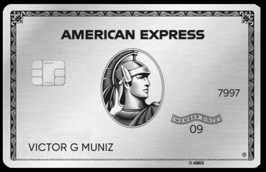 Ranking cartões de crédito Livelo American express