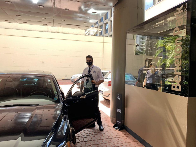 Grand Mercure sp Itaim Bibi estacionamento valet