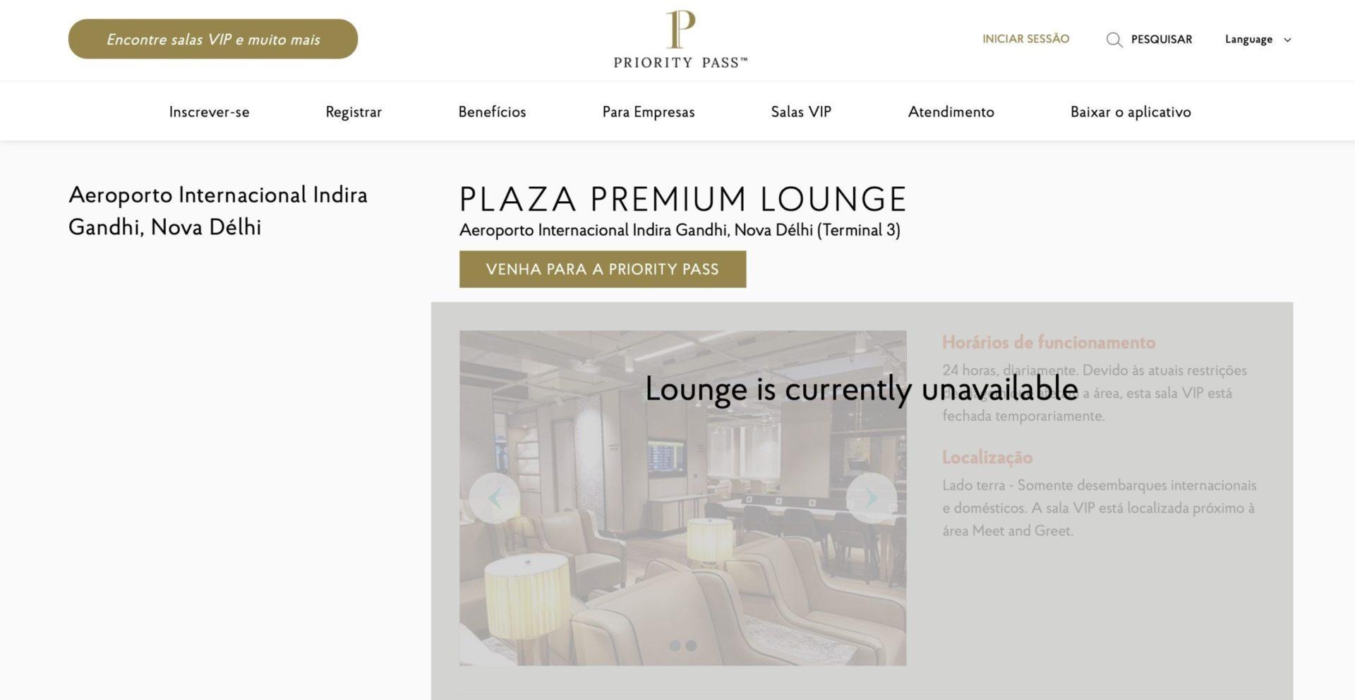 Plaza Premium Lounge Índia