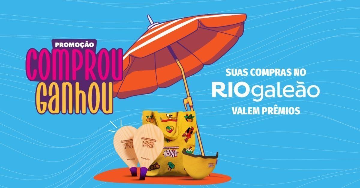 RIOgaleão promoção brindes