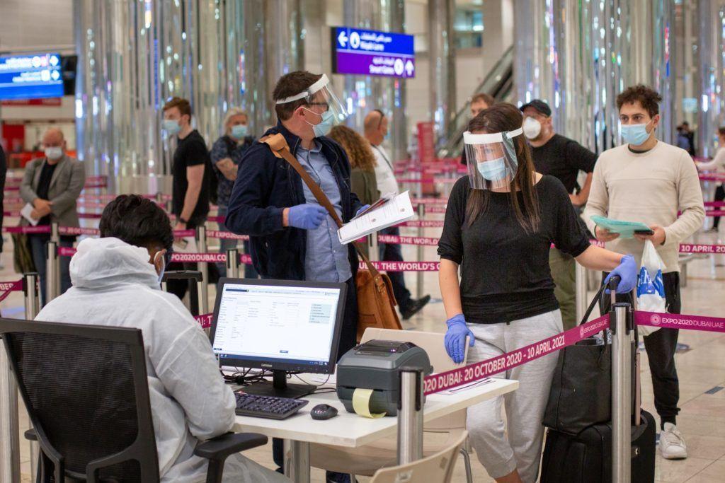 PCR Aeroporto de Dubai