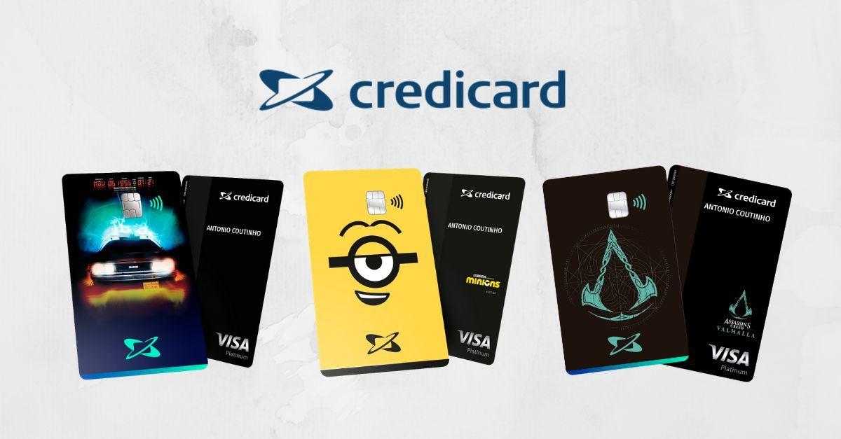 Credicard cartões temáticos