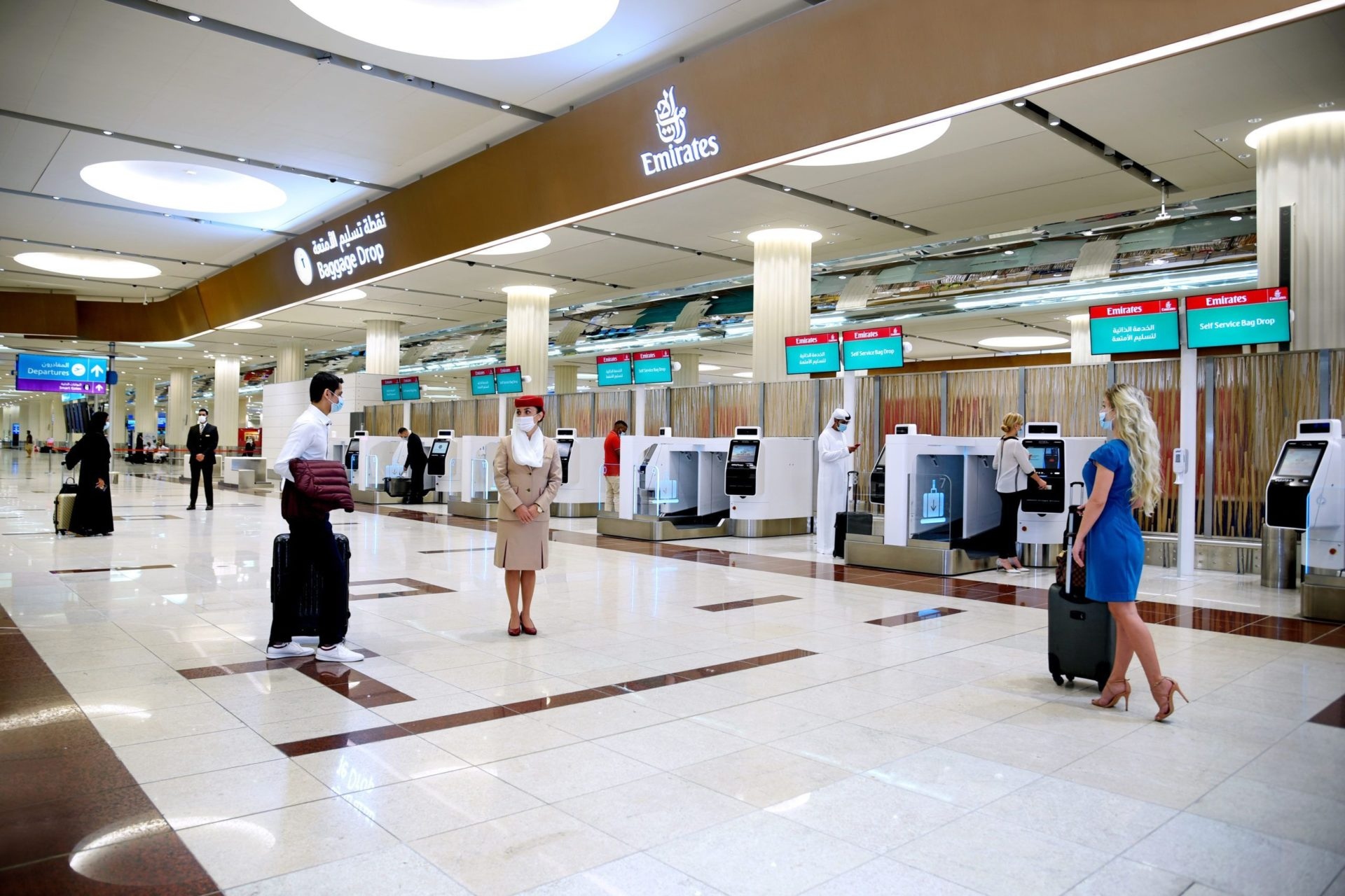 Emirates check-in