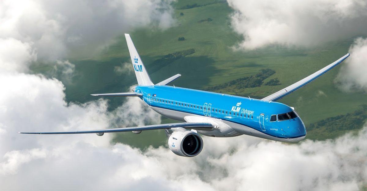KLM Cityhopper E195 E2
