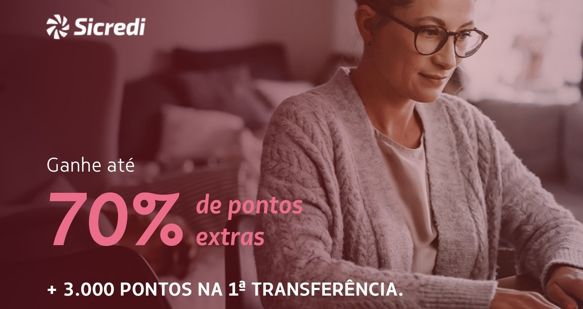 LATAM bônus Sicredi 70%