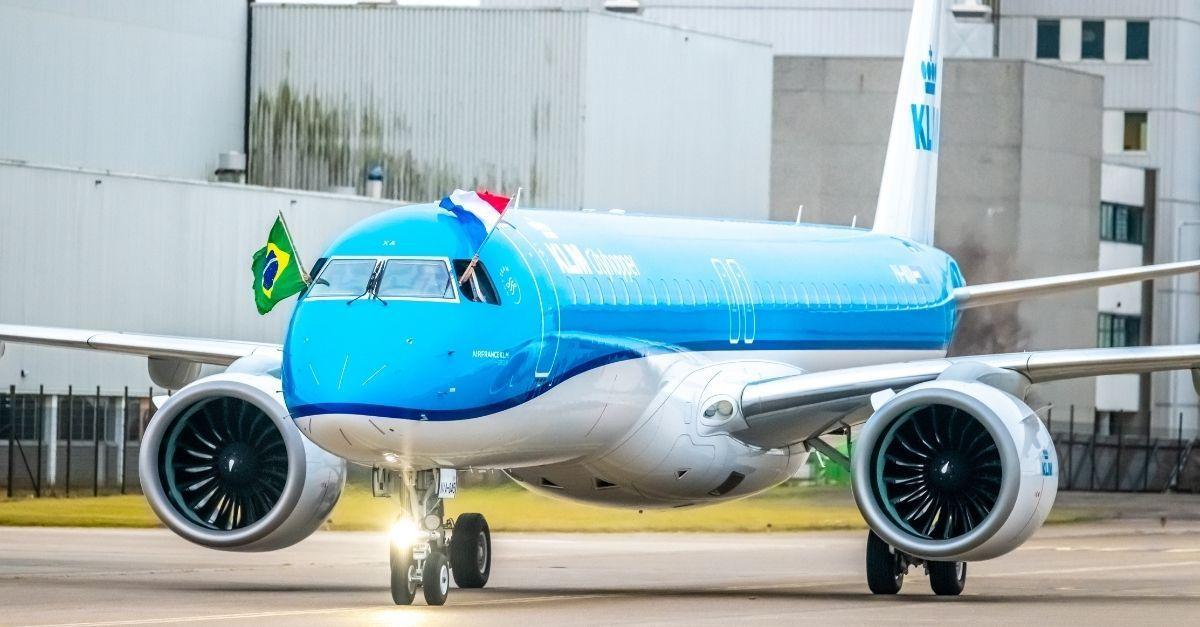 KLM E195-E2 Schiphol