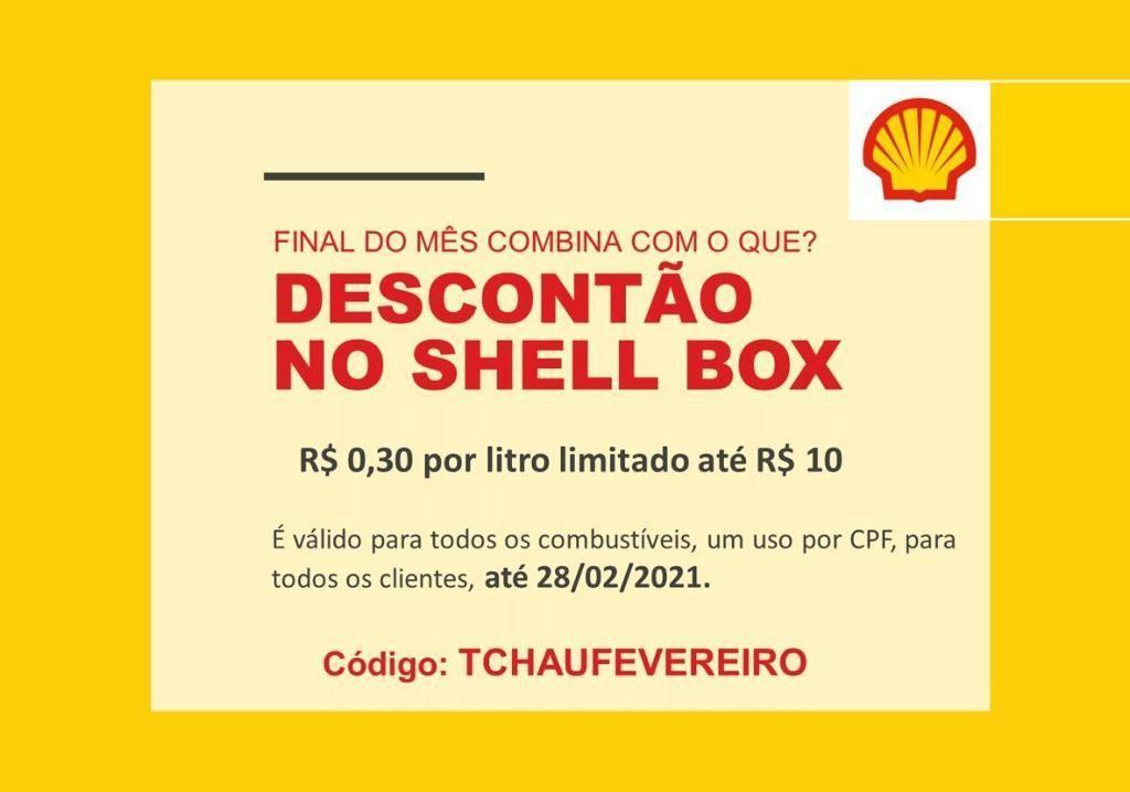 Shell Box cupom desconto