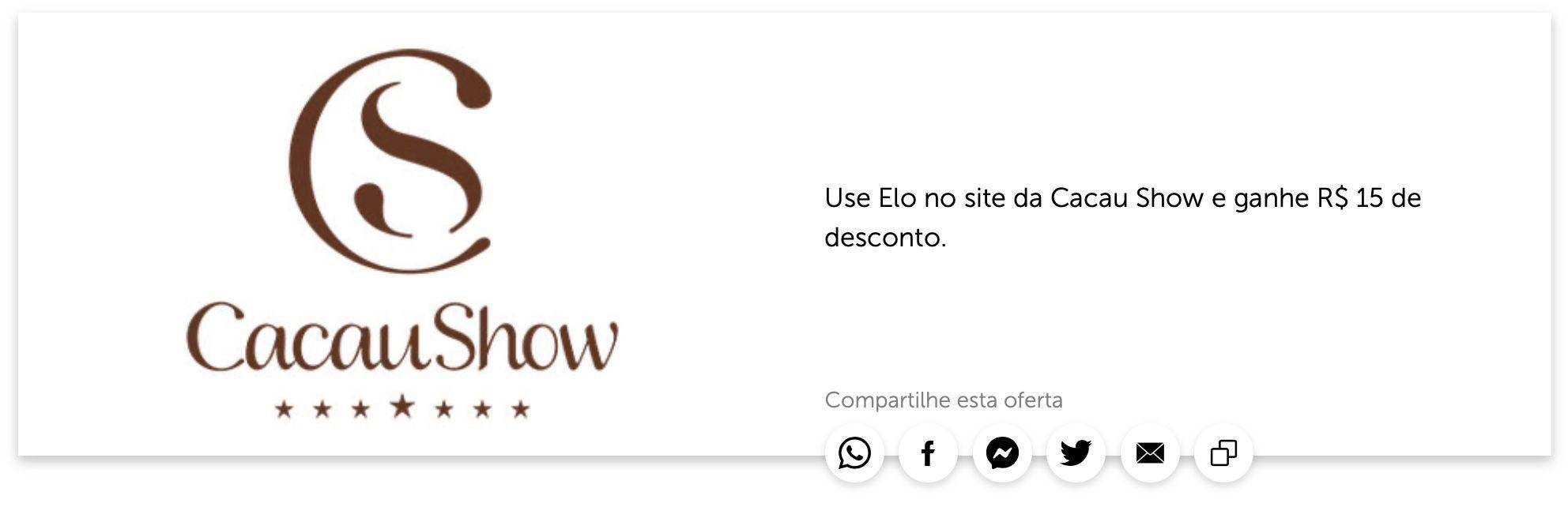 Elo Cacau Show