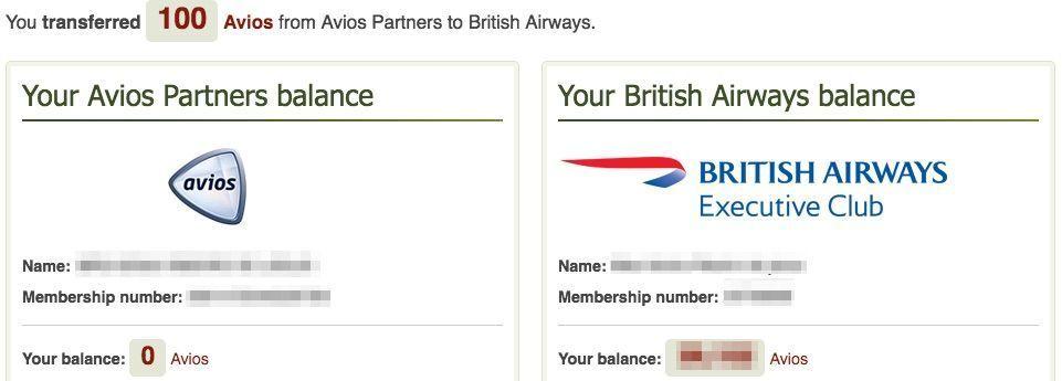 conta familia british airways executive club