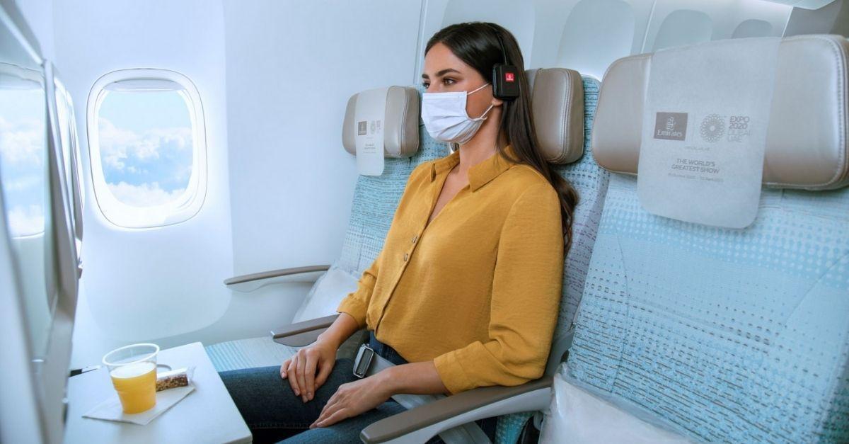 Emirates assentos economica