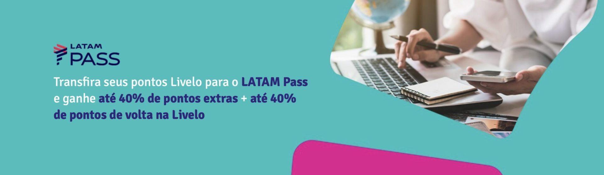 bumerangue Livelo LATAM 80%