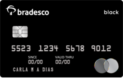 cartões Bradesco Mastercard Black