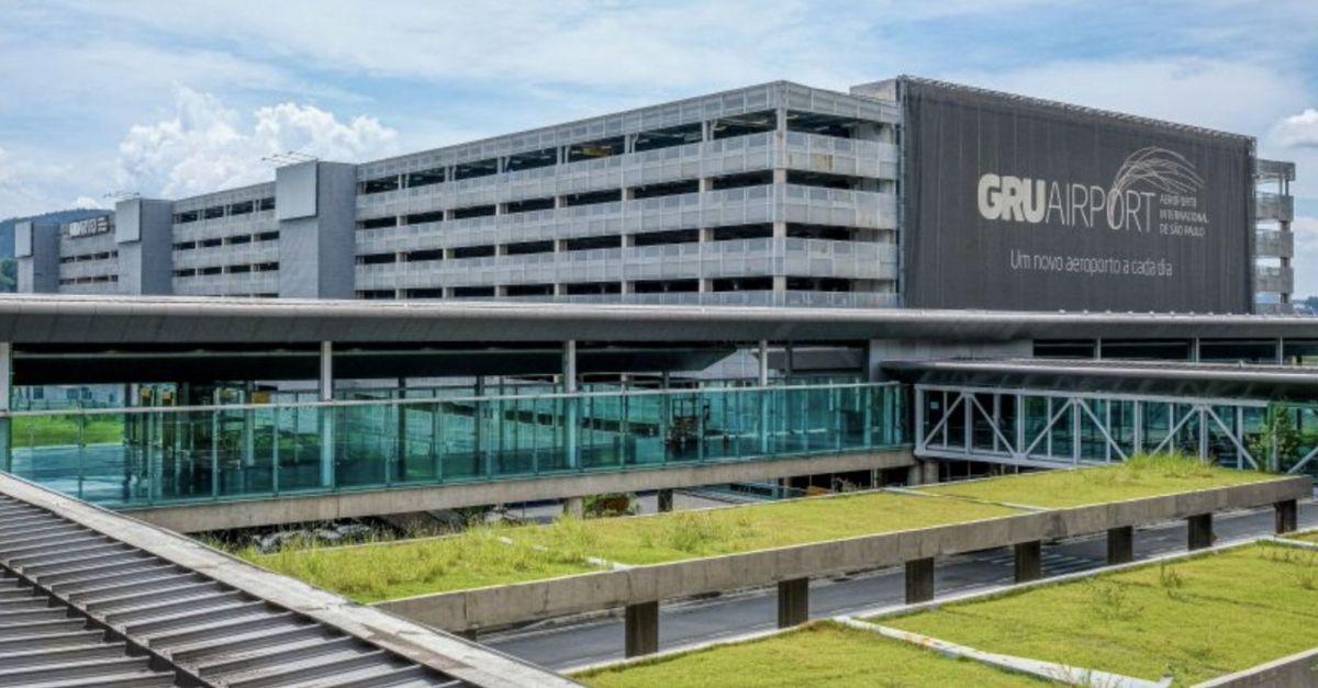 GRU Airport QR Code