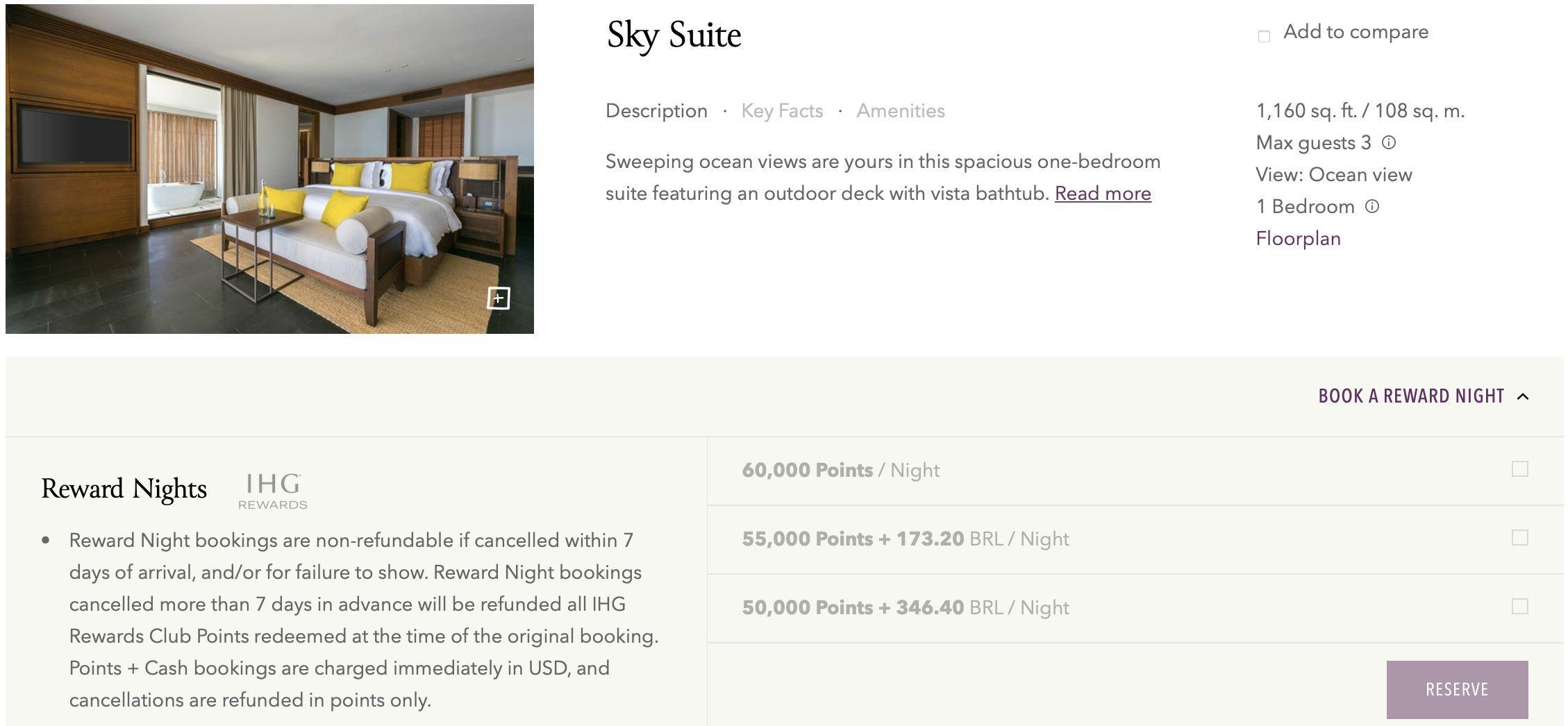 six senses sky suite