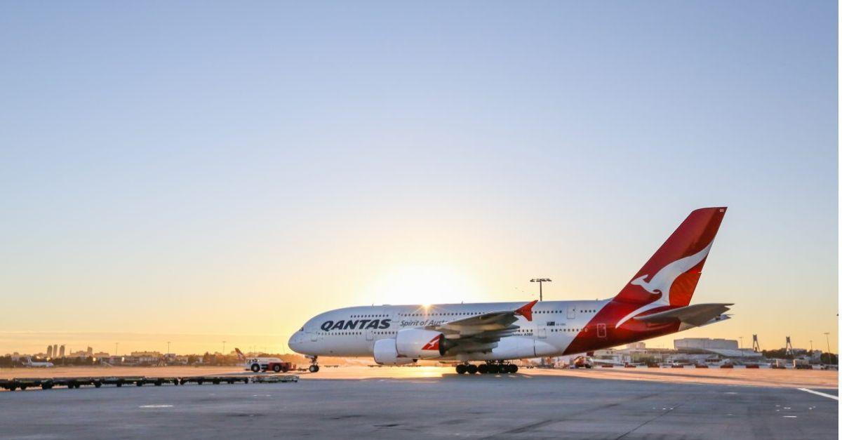 Qantas A380 reativar