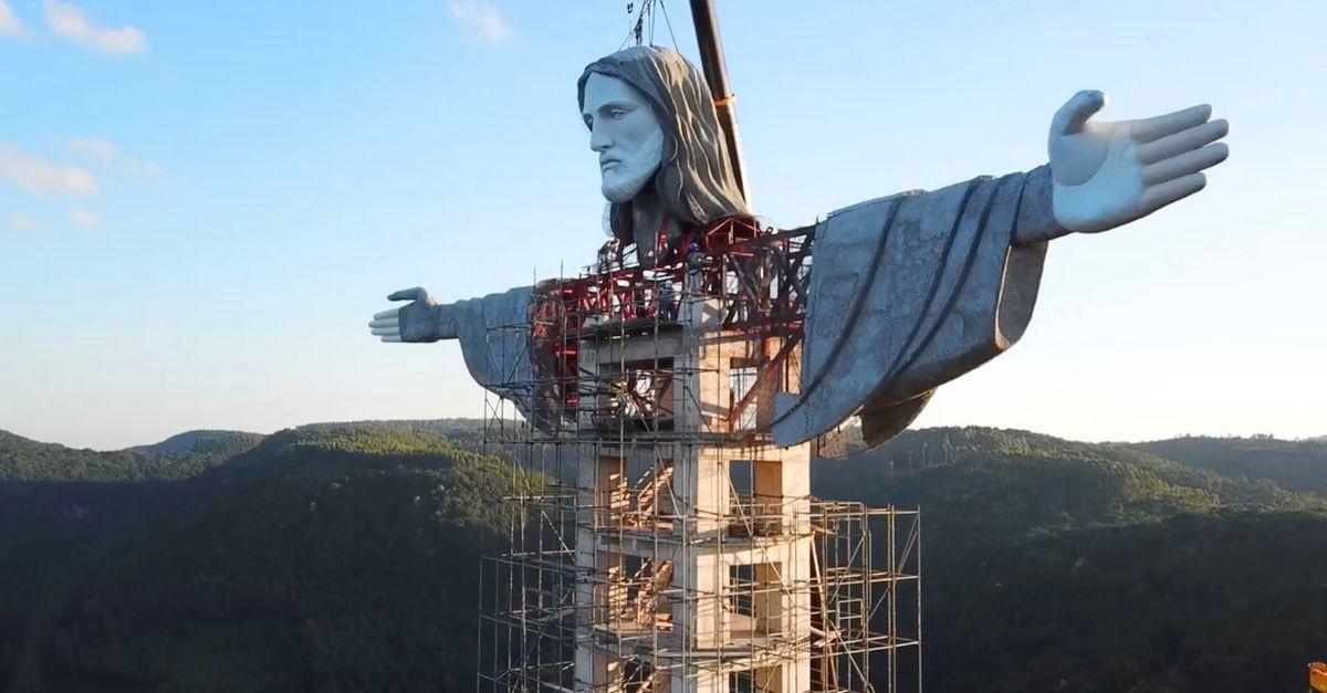 Encantado cristo maior Brasil
