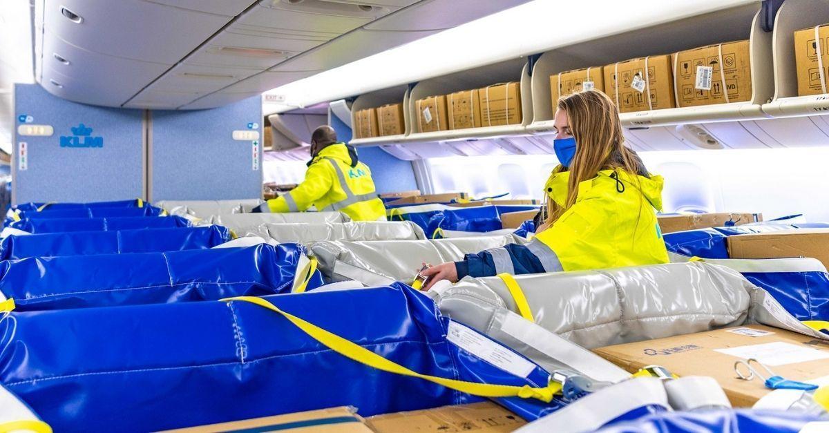 KLM Cargo Seat Bag