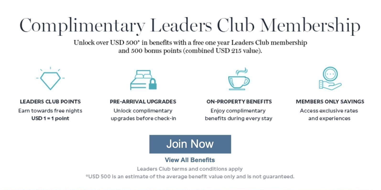 Leading Hotels World grátis