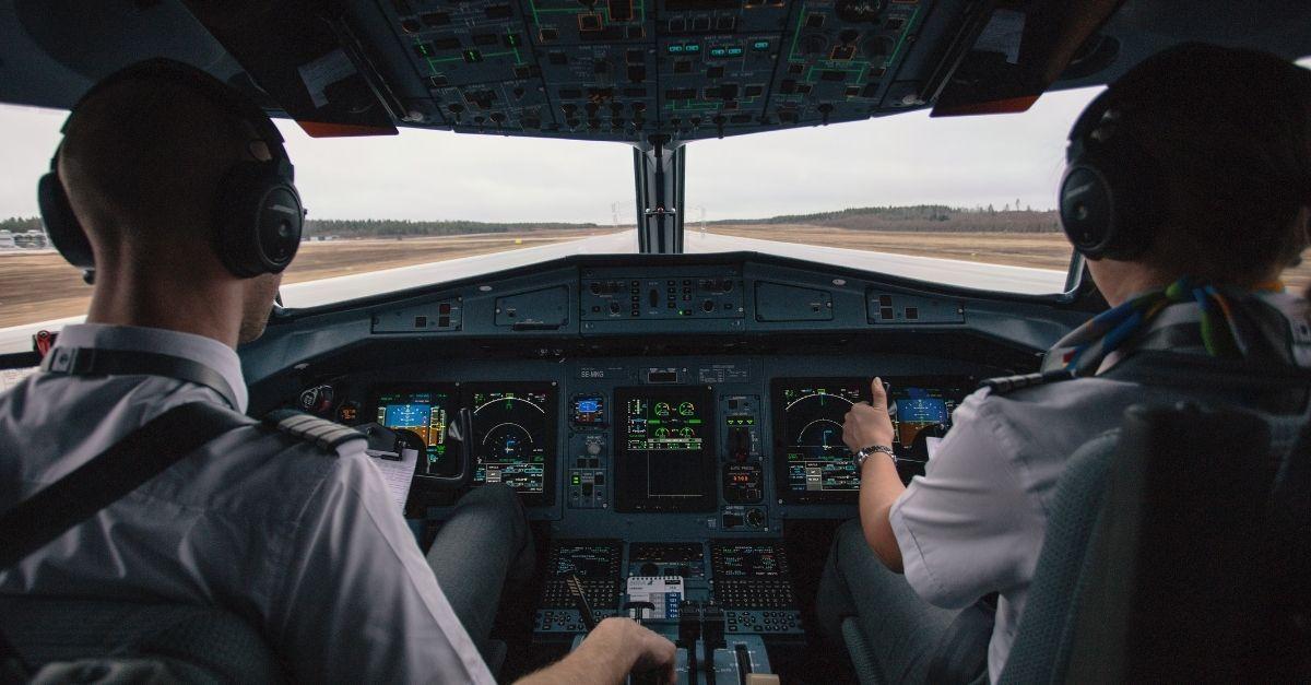 Pilotos avião