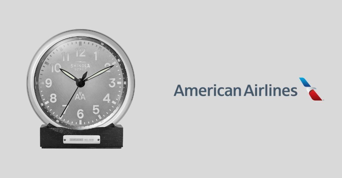 American Relógio MD-80