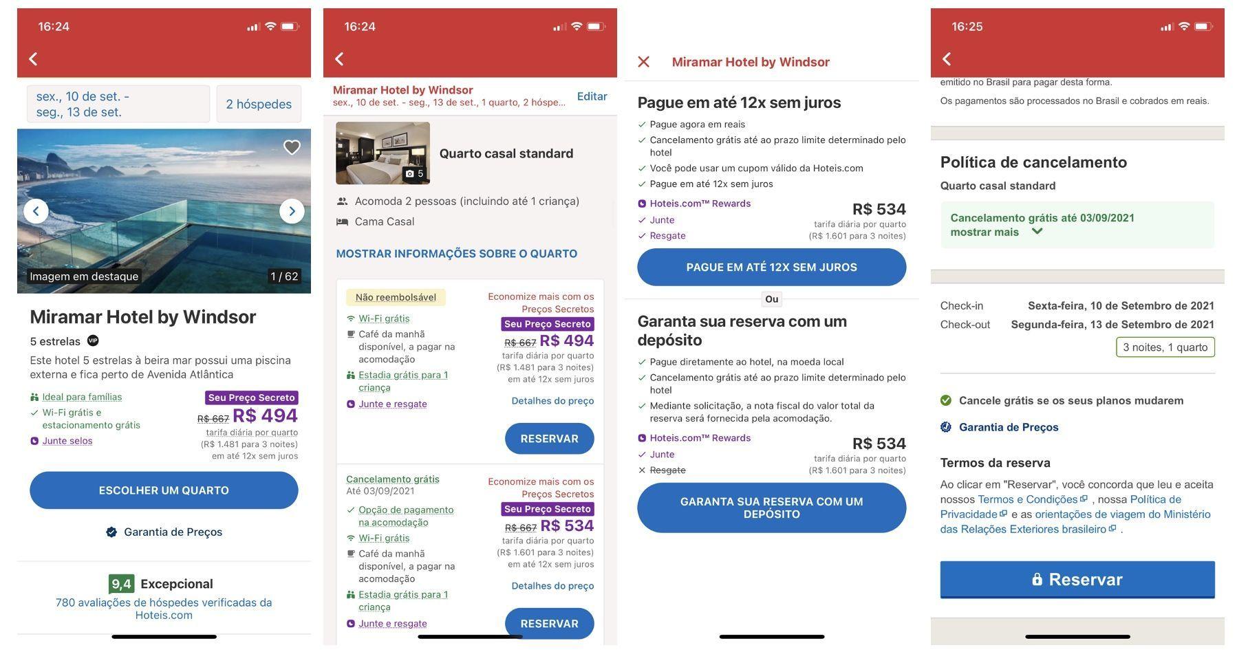 aplicativo hoteis.com