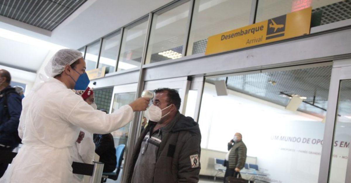 Aeroporto Congonhas barreira
