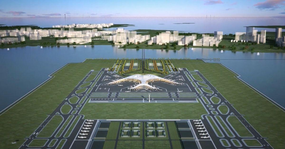 China aeroporto mar