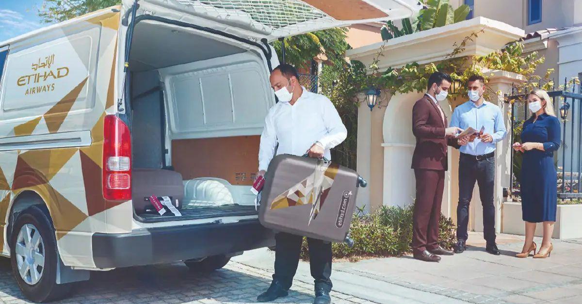 Etihad Airways bagagem casa