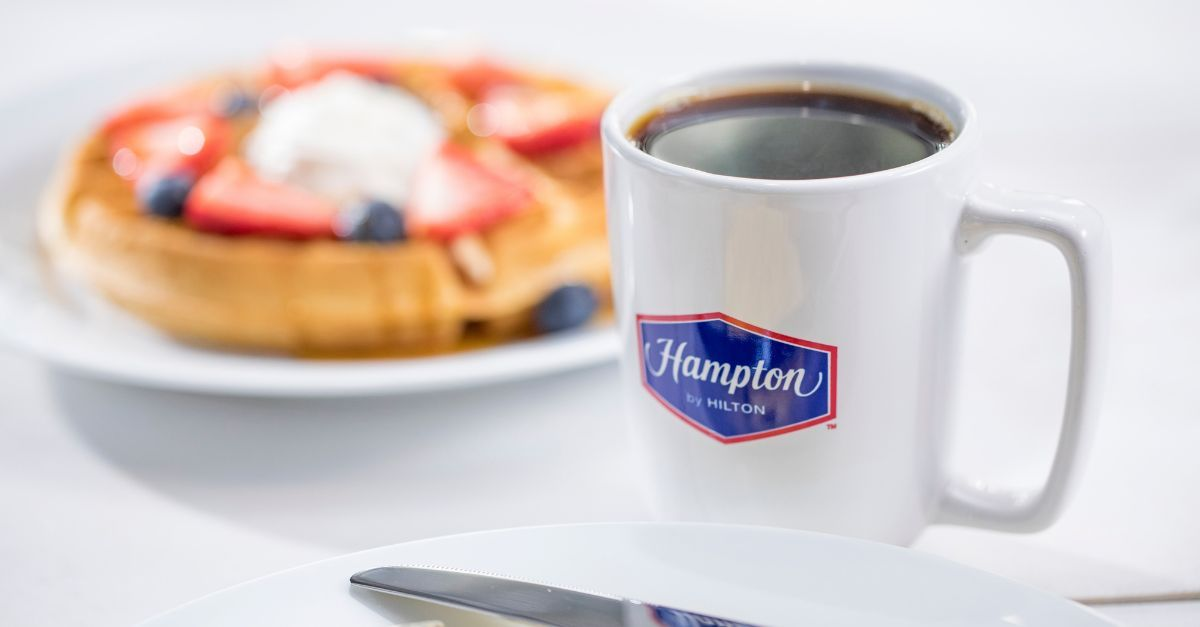 Hilton Café manhã vouchers