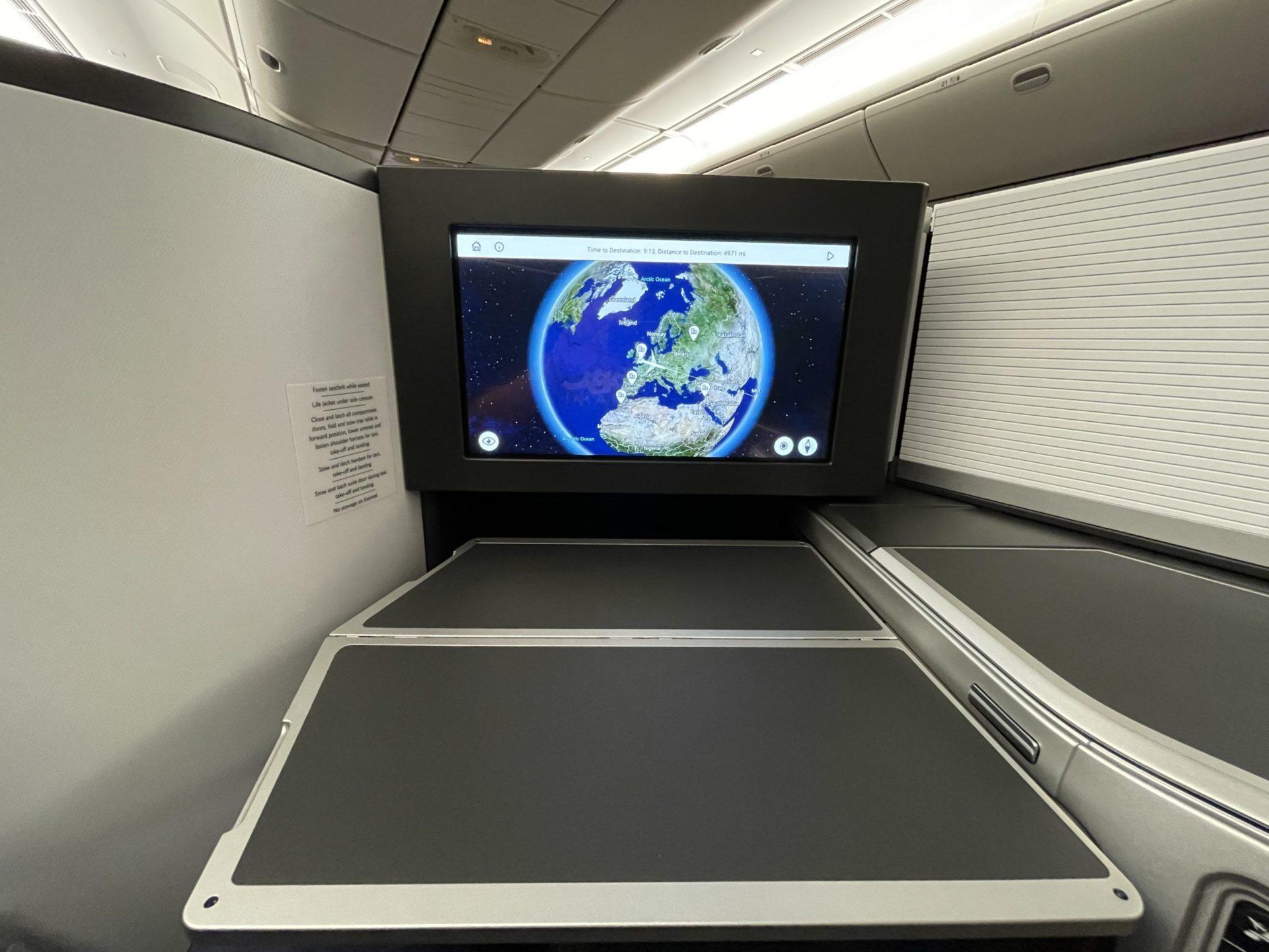 british airways classe executiva