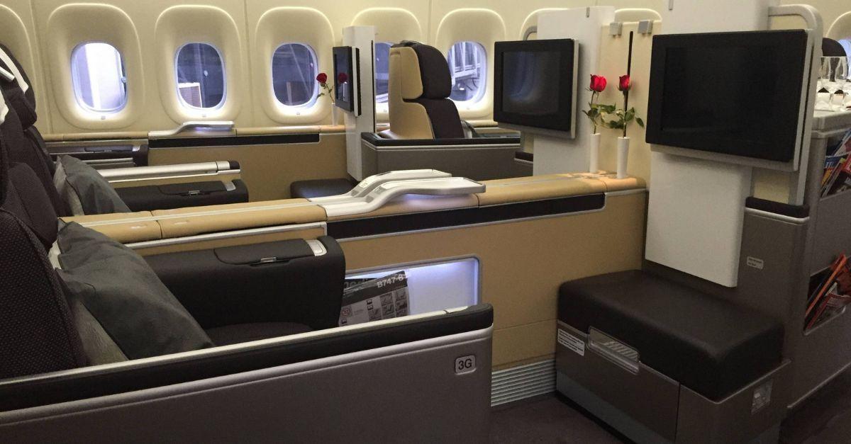 Primeira Classe Lufthansa TAP