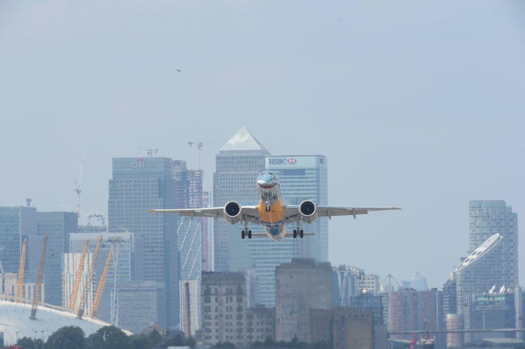 Embraer London City