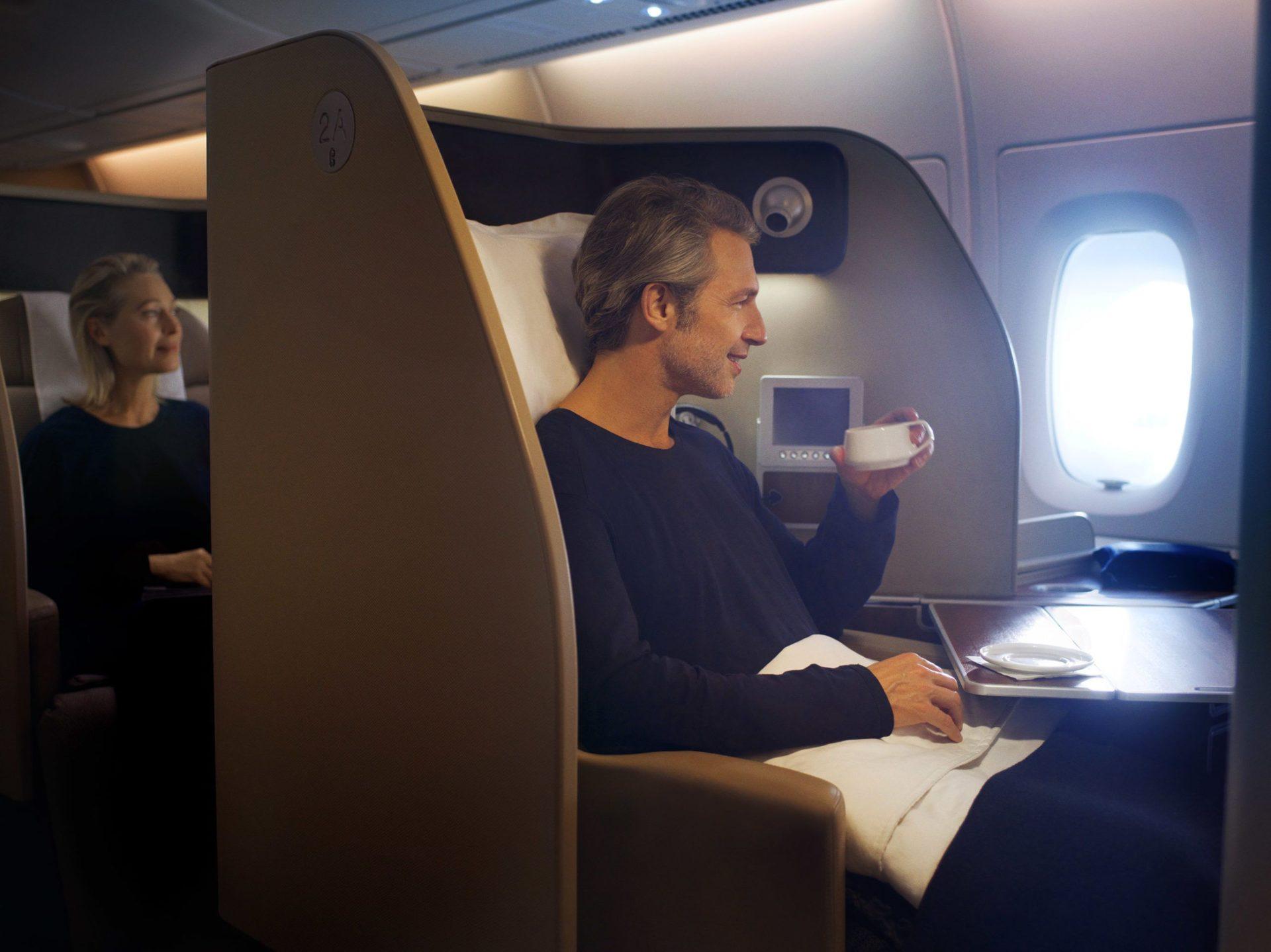 Primeira Classe Qantas