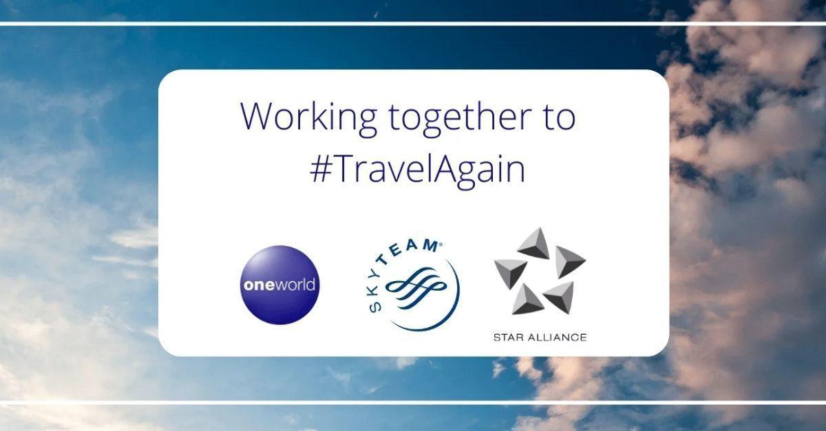 oneworld, SkyTeam Star Alliance