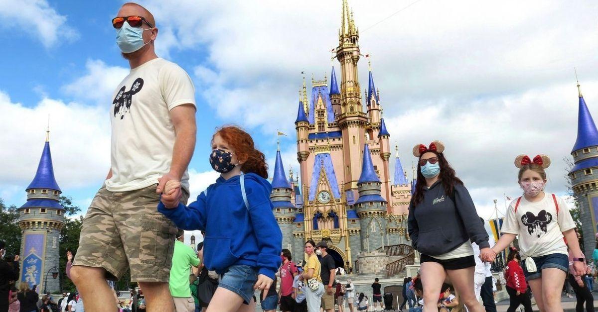 Disney máscara