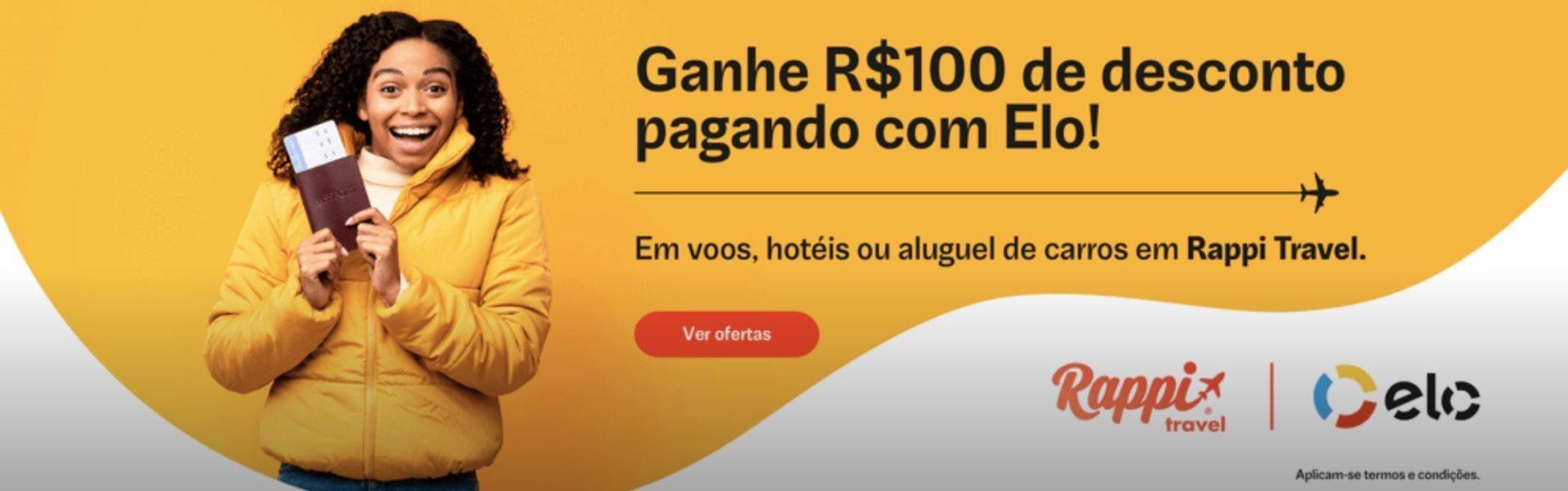 Rappi Travel Elo R$100