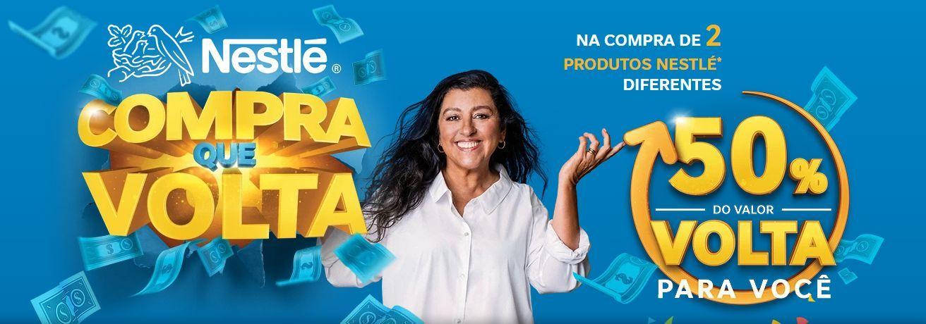Nestlé PicPay cashback