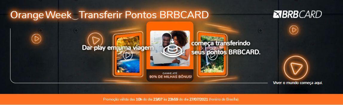 Smiles BRBCARD 90% bônus