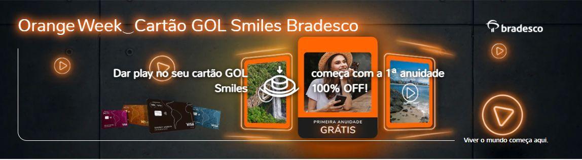 Smiles cartão Bradresco