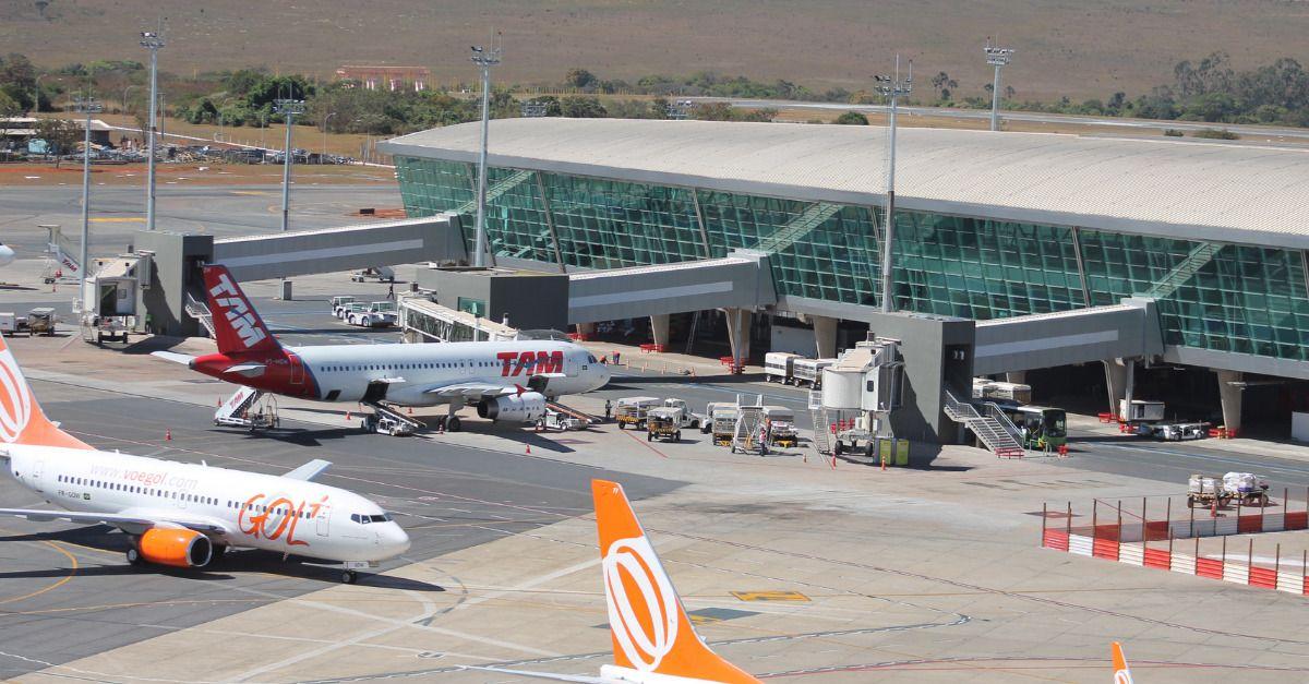 Aeroporto de Brasília movimentação
